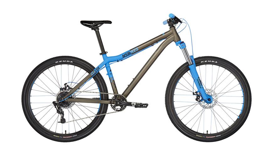 NS Bikes Clash dark raw/blue